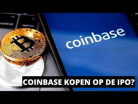 COINBASE Gaat Naar De Beurs Voor $250 Per Stuk. Moet Je Investeren In Deze Crypto IPO?