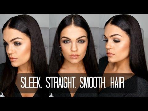 Kardashian Inspired Sleek & Straight Hair | FRIZZ FREE (with John Frieda)