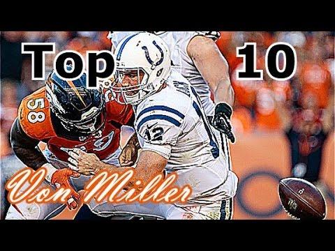 Von Miller Top 10 Plays of Career