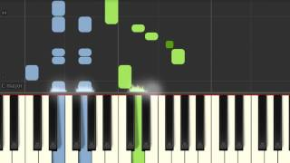 Piano tutorial: Peter, Bjorn & John - Second chance (Synthesia)