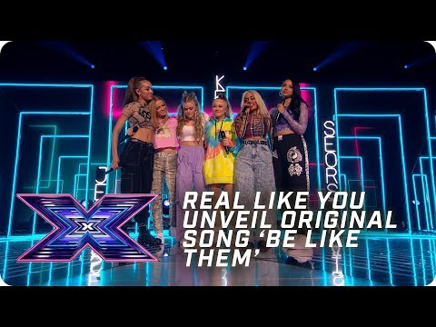 Real Like You unveil original song 'Be Like Them'  | X Factor: The Band | The Final