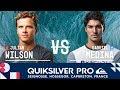 Gabriel Medina vs. Julian Wilson - Semifinals, Heat 2 - Quiksilver Pro France 2018