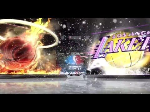 NBA on ABC Theme   2013 NBA Christmas Special   MIA vs LAL  