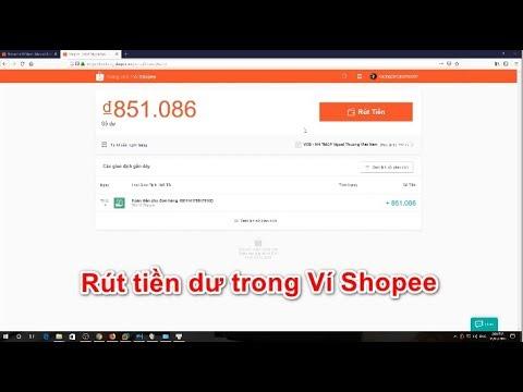Cách liên kết ngân hàng với Ví shopee để rút tiền (add bank account in Shopee)