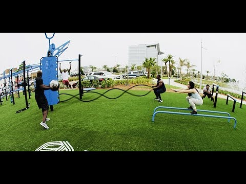 Outdoor Fitness Training With MoveStrong FitGround