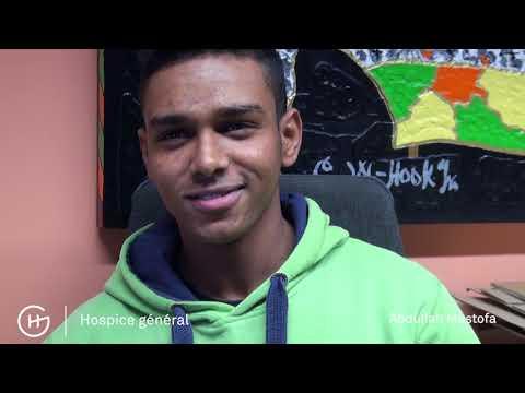 Les jeunes migrants participent à la Course de l'escalade 2017