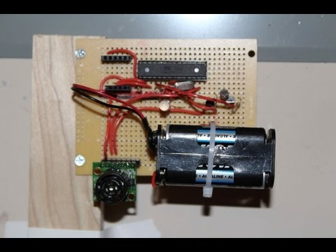 UltraSonic Arduino How To - Parking your car with an Arduino