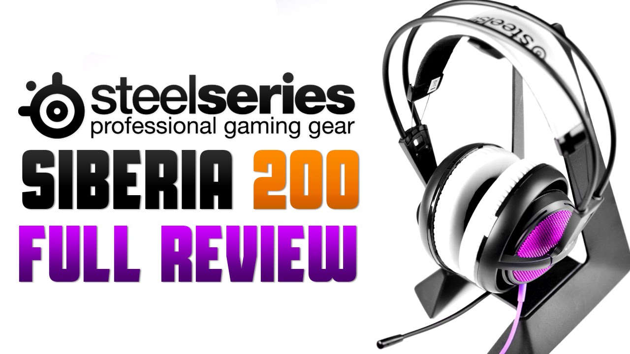 0eb22cc8892 Steelseries Siberia 200 Gaming Headset - Full Review - YouTube