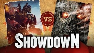 Optimus Prime Vs. Terminator - Which Robot is More Badass? Showdown HD
