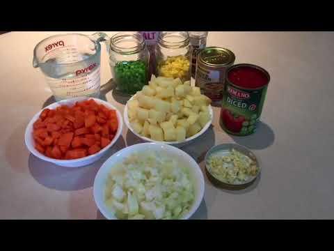 Vegan Family Dinner - Simple Stone Soup.