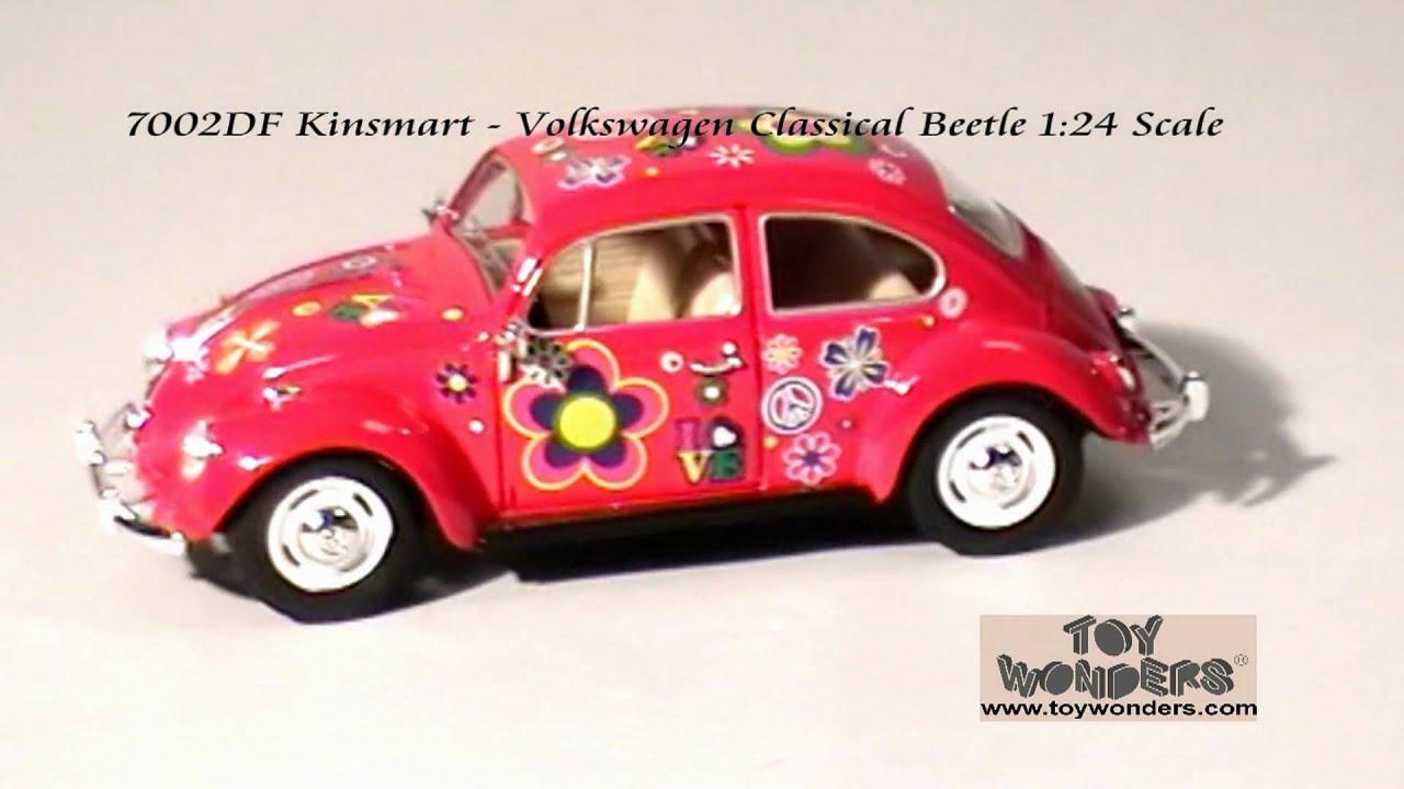 1:24 Scale 1967 Volkswagen Beetle Light Blue #24202 Lucky Diecast Model Car VW