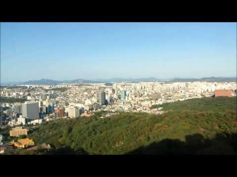 riding Seoul's Namsan Cable Car