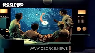 George News: In 1959 They Were Able To Move a Hurricane! A Walt Disney Presentation!