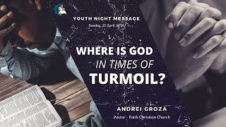 Youth Night - Where is God in times of turmoil? - 25.04.2021