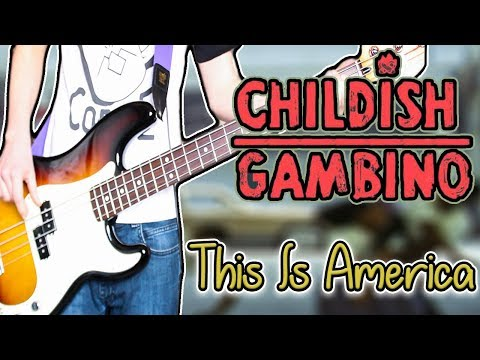 Childish Gambino - This Is America Guitar / Bass Cover