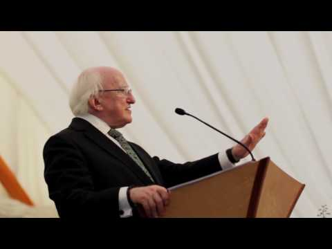 President Higgins hosts a Garden Party focused on the Sustainable Development Goals