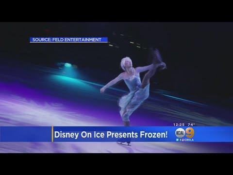 'Disney On Ice' Brings 'Frozen' To Long Beach