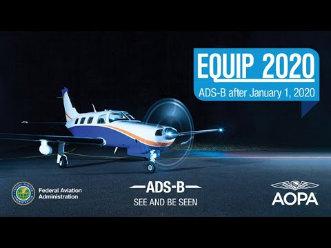 Equip 2020: What's Next For ADS-B After January 1, 2020