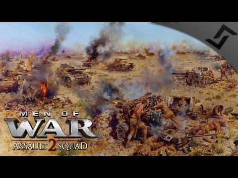 Fortress Tobruk Defense - Robz Mod - Men of War: Assault Squad 2 COOP Mission