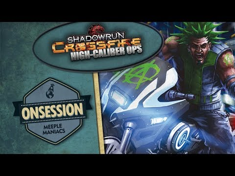 Shadowrun Crossfire [expansão High Caliber Ops]: On Session