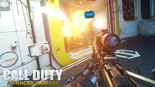 Advanced Warfare - PC Sniper Gameplay