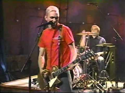 Everclear 'Santa Monica' early live 3-piece studio performance Art Alexakis guitar