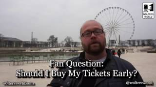 When Should I Buy My Plane Ticket? The Earlier, The Better...