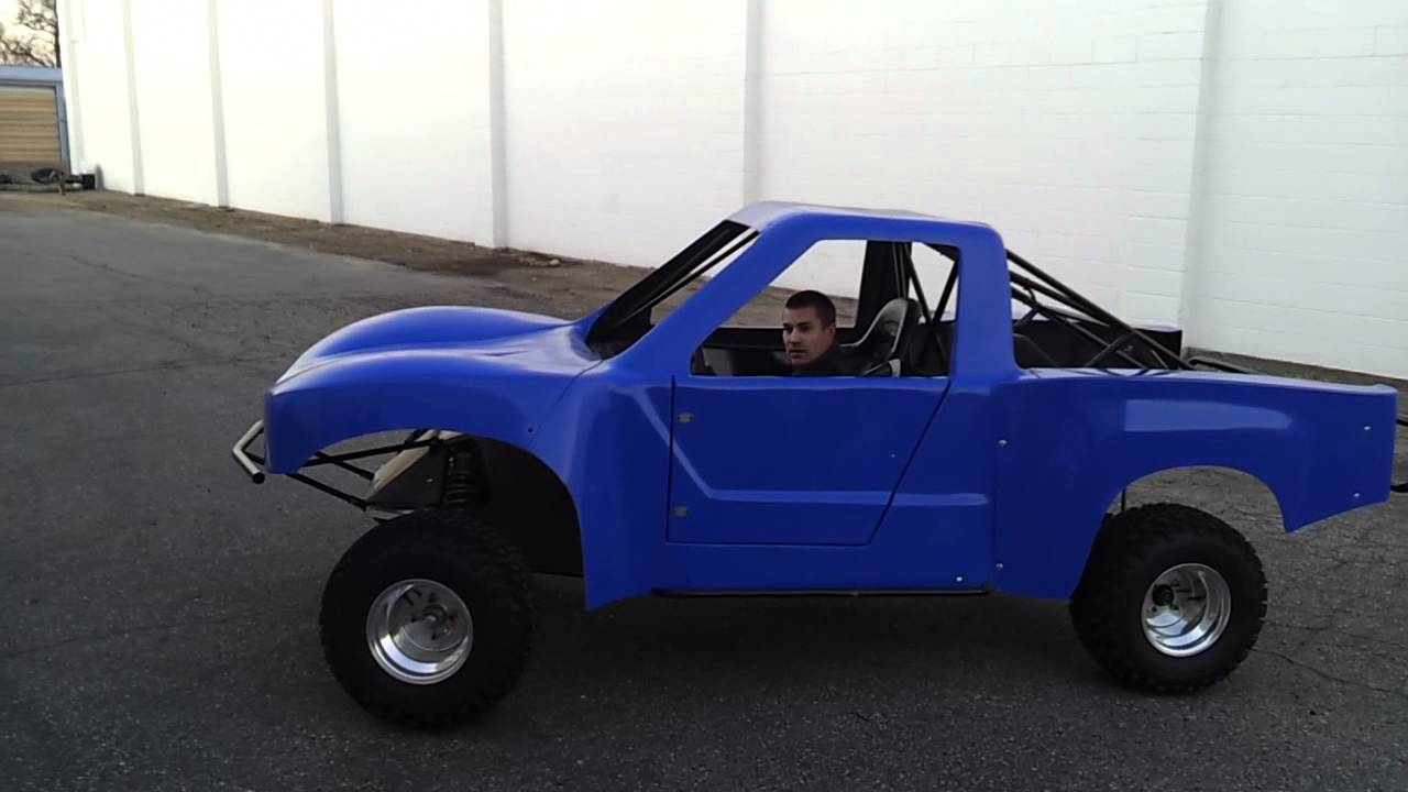 Mini Trophy Truck >> Trophy Kart - YouTube