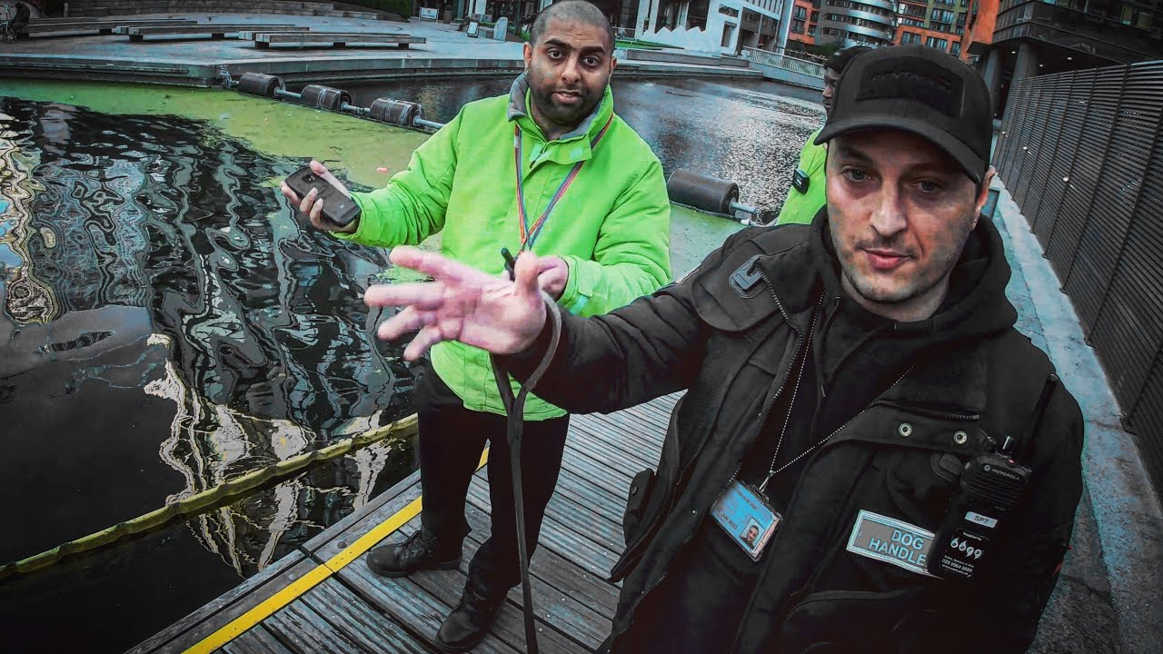 Debating our Fishing Rights Against Security then Catching a Pike - Urban Fishing London Canals