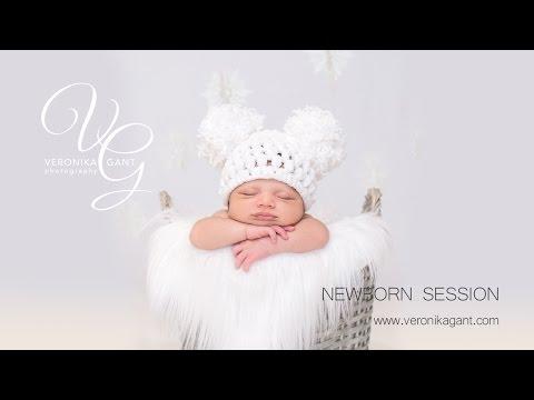San Antonio Newborn Photography Ideas by Veronika Gant (Christmas Theme)