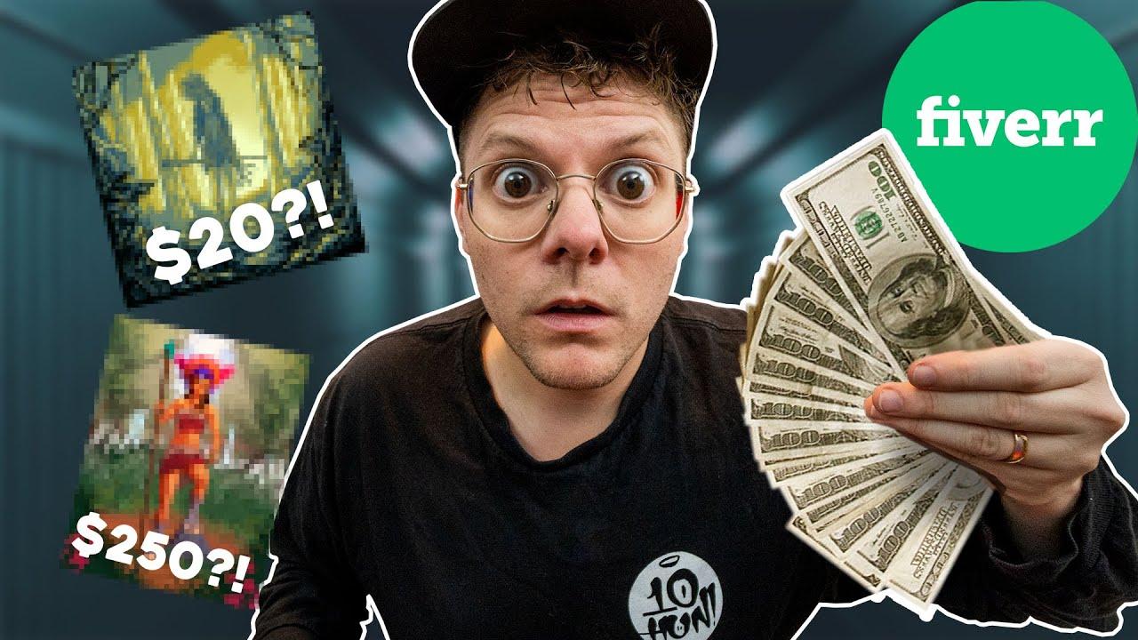 I Paid Artists $1K on FIVERR to Illustrate my Strange Dream!