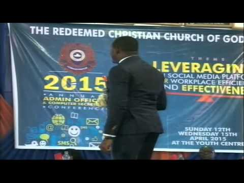 2015 Admin Conference- Day 4 (DUE DILIGENCE & SERVICE CHARACTER - Mr. THEOPHILUS CORNERSTONE)