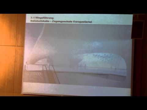 Barrierefreiheit bei S21 und in der Zeit davor. 3/7  Hinrich Schumacher (Ingenhoven Architects)
