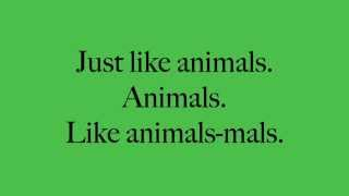 Animals Maroon 5 Lyrics   YouTube