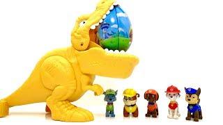 Paw Patrol  डायनासोर एक आश्चर्यजनक अंडे लाता है