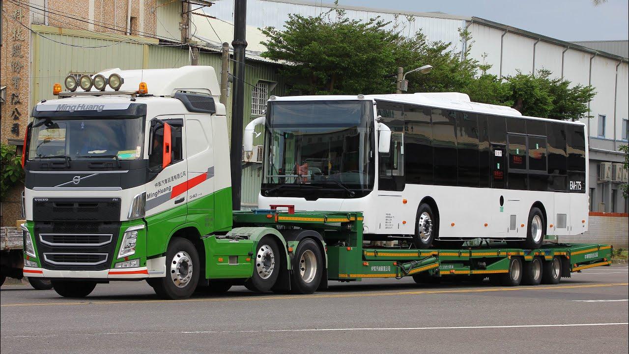 興南客運 創奕電動巴士 新車陸運抵達 EAA-772 EAA-775 EAA-776
