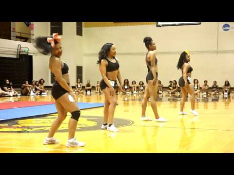 Bowie State University Golden Girls Tryouts 2017-18
