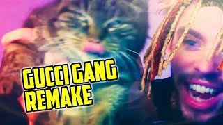 LIL PUMP GUCCI GANG REMAKE + FLP 🔥 (THE LUIGY SHOW #1)