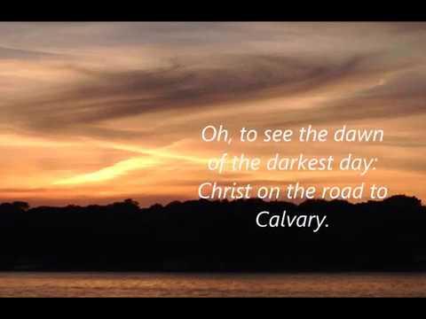 The Power Of The Cross - lyric SATB