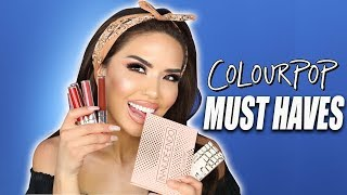 MUST HAVE COLOURPOP PRODUCTS| iluvsarahii