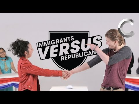 Versus: Immigrants / Republicans Take the US Citizenship Test - Episode 1