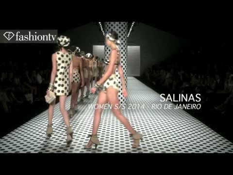 Salinas Swimwear Spring Summer 2014 Show Fashion Rio FashionTV