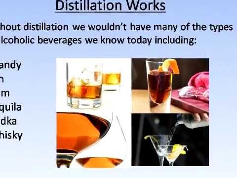 distillation project alcohol beverages To drink today's alcohol beverages, fortified with alcohol through distillation a book entitled beverage alcohol.