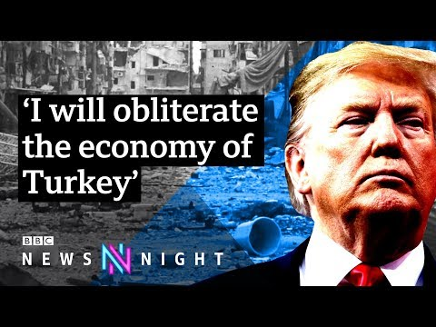 Turkey-Syria border: What does Trump's decision mean for the Kurds? - BBC Newsnight