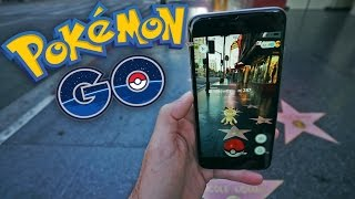POKEMON EN HOLLYWOOD! Pokemon GO - [LuzuGames]