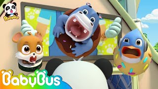 Super Panda Rescues Friends | Baby Panda's Magic Bow Tie | Magical Chinese Characters | BabyBus