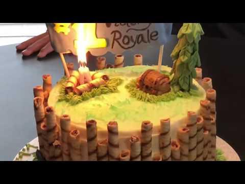 Fortnite  Birthday Cake And Buttercream Recipe
