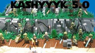 LEGO Star Wars Clone base on Kashyyyk 5.0 #X39MOCcontest