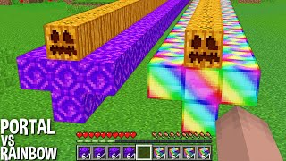 HOW to SPAWN LONGEST and RAREST RAINBOW GOLEM or PORTAL GOLEM in Minecraft ? NEW GOLEM !
