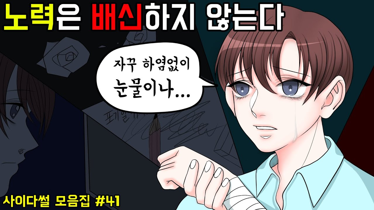 시원한 사이다썰 모음집#41 ㅣ호돌이 영상툰